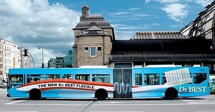 Creative Bus Advertising